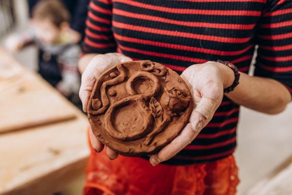 Студия лепки Глинка в Культурном центре МосАрт