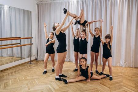 Мосарт, студия акробатического рок-н-ролла, для детей в Новогиреево