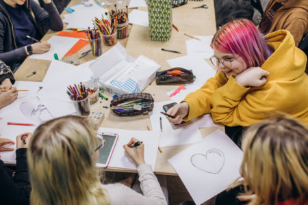 Студия анимации Екатерины Кузнецовой в Новогиреево, площадка МосАрт