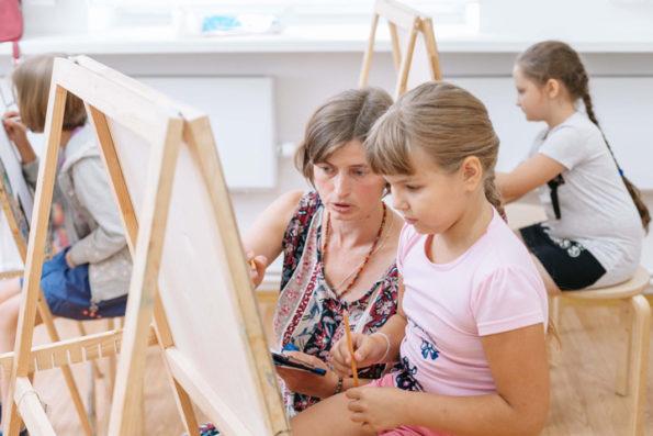 Студия арт-живописи в Мосарт
