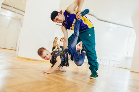 Брейкданс, Брейкинг для детей в Новогиреево, МосАрт