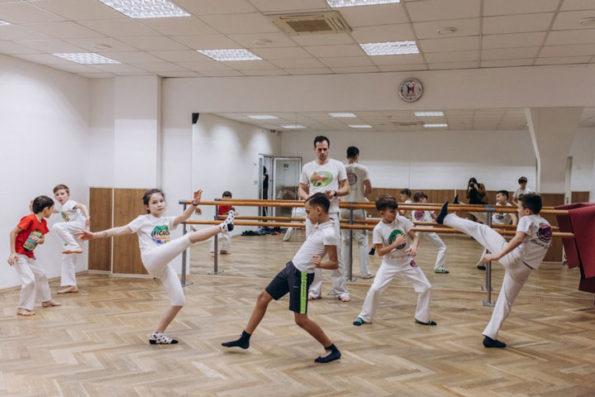 Студия капоэйры «Жинга» , Новогиреево