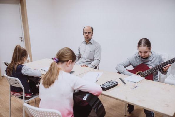 Студия гитарного мастерства в Новогиреево для детей, Мосарт