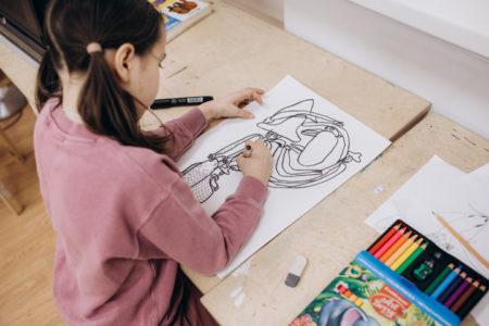 Художественная мастерская, в Новогиреево для детей, Мосарт