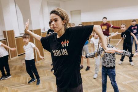 "Студия уличного танца ""Generation"" на площадке МосАрт"
