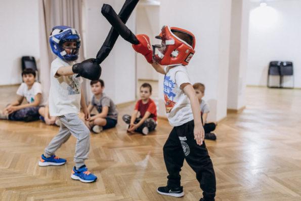 Спортивная студия ушу для детей